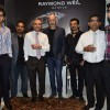 Shankar Mahadevan, Ehsaan Noorani and Loy Mendosa snapped at the Launch of Raymond Weil Store