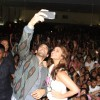 Aditya and Parineeti click a selfie at Miranda College