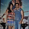 Hrithik Roshan and Katrina Kaif pose for the media at the Song Launch of Bang Bang