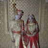 Kunwar Pratap and Ajabde pose for the camera at their Royal Rajputana Wedding