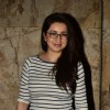 Tisca Chopra poses for the media at the Special Screening of Khoobsurat