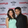 Vivian Dsena poses with Vahbbiz Dorabjee Dsena at the Launch of Travel Magazine Cover