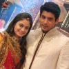Siddharth Shukla and Toral Rasputra in colors Eid Party