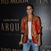 Neha Dhupia poses for the media at the Launch of Vero Moda MARQUEE Collection