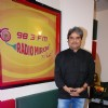 Vishal Bharadwaj poses for the media at Radio Mirchi Studio
