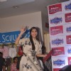 Sonam Kapoor waves to the audience at the Promotion of Khoobsurat at Reliance Trends