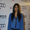 Carol Gracias poses for the media at Varun Bahl Show for Audi
