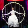 Deepika Padukone performs during SLAM! THE TOUR