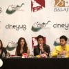 Shah Rukh Khan addressing the media at Houston Press Conference
