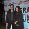 Irrfan Khan and Neetu Chandra pose for the media at the Launch of 5th Jagran Film Festival