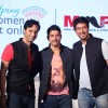 Salim Merchant, Farhan Akhtar and Sulaiman Merchant at the Song Launch of MARD