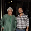 Javed Akhtar and Ritesh Sidhwani at the Completion Bash of Dil Dhadakne Do