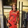 Rashmi Nigam poses for the media at Ritu Kumar Store Launch