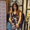 Nisha Jamwal poses for the media at Ritu Kumar Store Launch