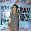 Shilpa Shukla poses for the media at 5th Jagran Film Festival
