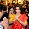 Vidya Balan greets the guests at PC Jewelers Launch in Kolkatta