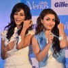 Chitrangda and Soha try out the Gillete Venus