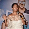 Lisa Haydon addresses the media at the Trailer Launch of The Shaukeens