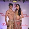 Karanvir Bohra and Teejay Sidhu walk the ramp at the Wedding Show by Amy Billiomoria