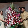 Sachin Tendulkar felicitated with flower boguet on Lata Mangeshkar's 85th Birthday