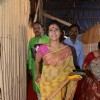 Kajol snapped at North Bombay Sarbojanin Durga Puja