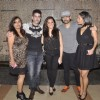 Vijay Bhatia poses with friends at his Birthday Bash