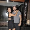 Gurmeet Choudhary poses with Debina Bonnerjee at Vijay Bhatia's Birthday Bash