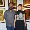 Deepa Sahi and Ketan Mehta at the Promotion of Rang Rasiya with an Art Exhibition