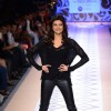 Sushmita Sen walks the ramp for Rina Dhaka at the Myntra Fashion Week Day 1