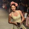 Kalki Koechlin walks the ramp for Ami Patel at the Myntra Fashion Week Day 2