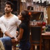 Gautam Gulati and Soni Singh during a task at Bigg Boss 8