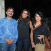 Sushmita Sen poses with her Mom and a friend at Sunny Super Sound