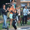 Soni Singh performs a task at Bigg Boss 8