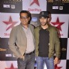 Amit Sadh poses with a friend at Star Box Office Awards
