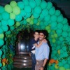 Vikas Bhalla With his son at Ruhaan's Birthday Party