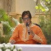 Big B Celebrates his Birthday with the Media