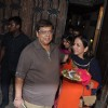 David Dhawan snapped with wife at Karva Chauth Celebrations