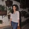 Deeksha Seth poses for the media at the Special Screening of Sonali Cable