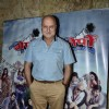Anupam Kher poses for the media at the Special Screening of Ekkes Toppon Ki Salaami