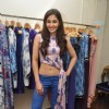 Pooja Gupta poses for the media at Nisha Chainani's Collection Preview