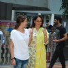 Hema Malini and Esha Deol cast their Vote