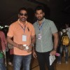 Mukesh Rishi poses with his son at the 16th MAMI Film Festival Day 3