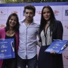 Neha Dhupia, Divyendu Sharma and Aditi Sharma at the Brailler Menu Launch