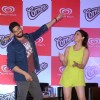 Sidharth Malhotra and Yami Gautam at the Kwality Wall's Cornetto Product Promotions