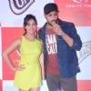 Sidharth Malhotra bites into a Kwality Wall's Cornetto at the Product Promotions