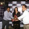 Mona Singh felicitated at the donation drive at Hypercity for Kashmir