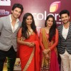 Cast of Sasural Simar Ka poses for the media at the 1000 Episode Celebration