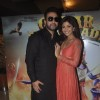 Shilpa Shetty and Raj Kundra pose for the media at the Trailer Launch of Chaar Sahibzaade