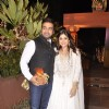 Raj Kundra poses with Shamita Shetty at Sachin Joshi's Diwali Bash