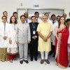 Launch of HN Reliance Foundation Hospital by Narendra Modi